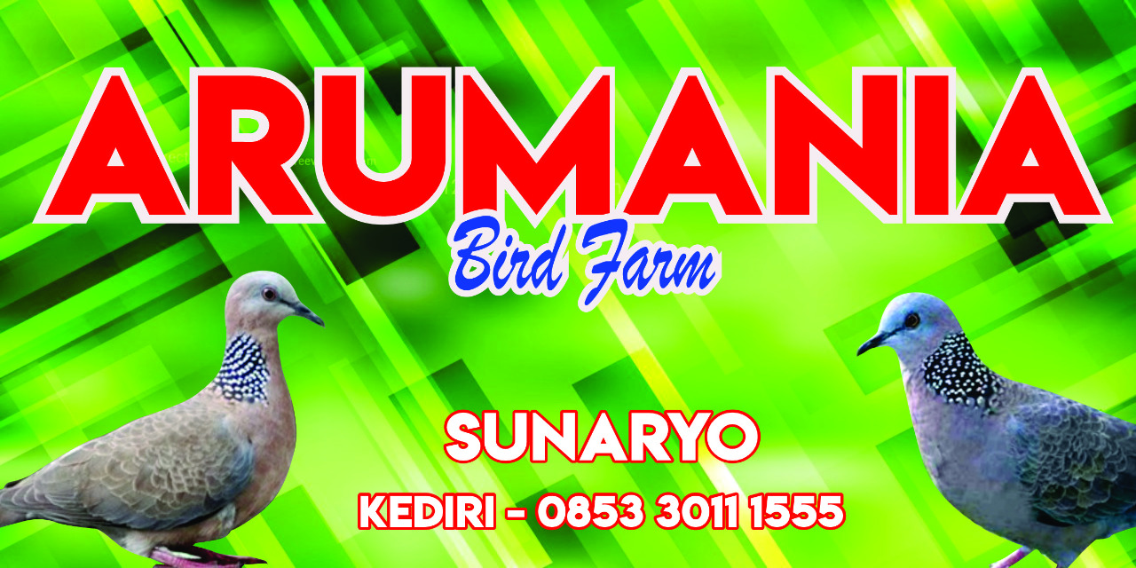 Arumania Bird Farm - Sunaryo - Kediri