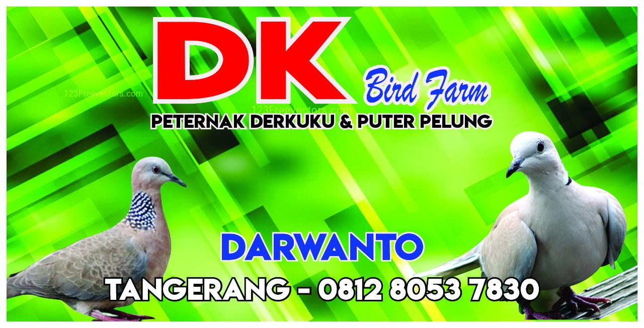 DK Bird Farm - Derkuku & Puter Pelung - Tangerang